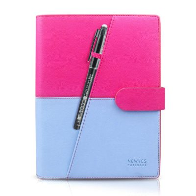 Pink-Blue notebook