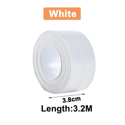 3.2m x 3.8cm white