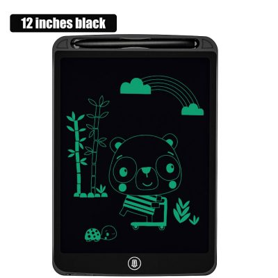 12 inch Black