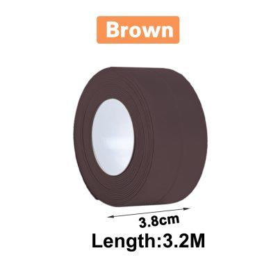 3.2 x 3.8cm Brown