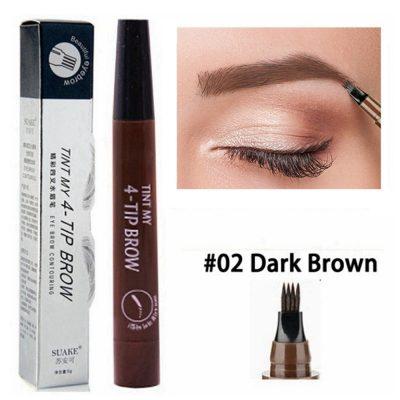 2 dark brown