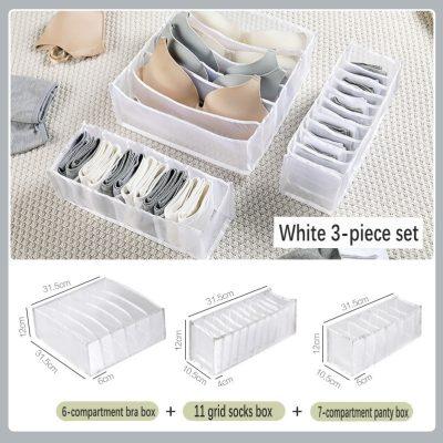 White 3-piece set